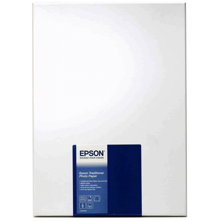 EPSON S045050 A4 Traditional Photo Paper 25 Sayfa