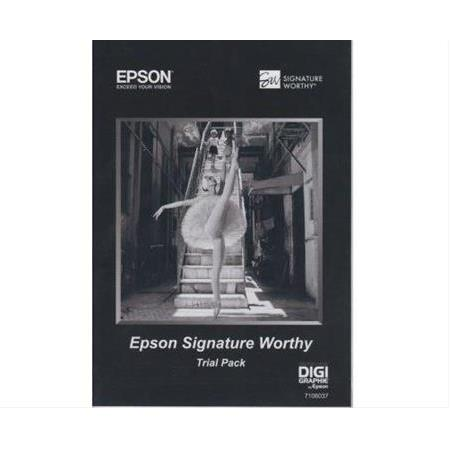 Epson 7105525 A3 Signature Worthy Trial Pack