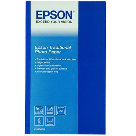 EPSON S045051 A3+ Traditional Photo Paper 25 Sayfa
